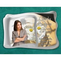 Pergamena Funebre in porcellana serie Rodi in hd